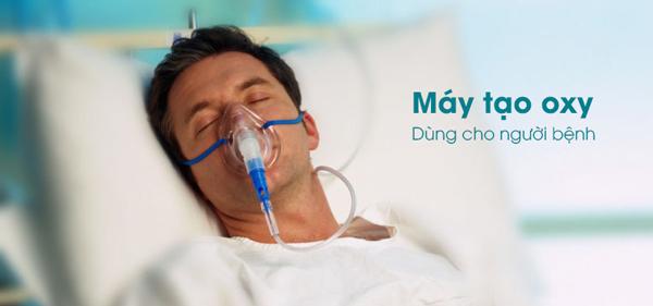 máy tạo oxy cho người bệnh